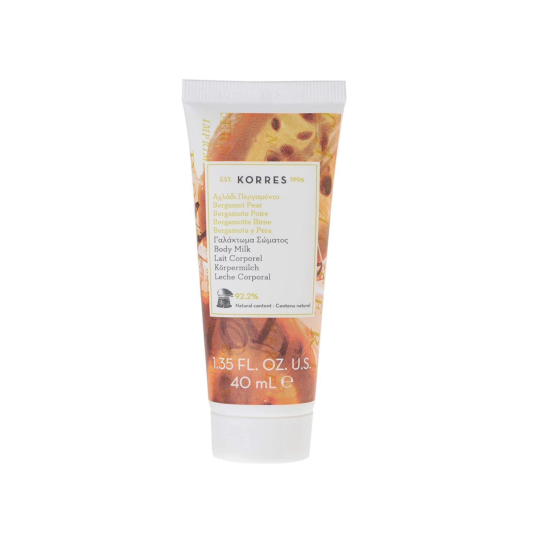 KORRES - Crema de cuerpo de bermagota tamaño viaje, 40 ml: Amazon.es: Belleza