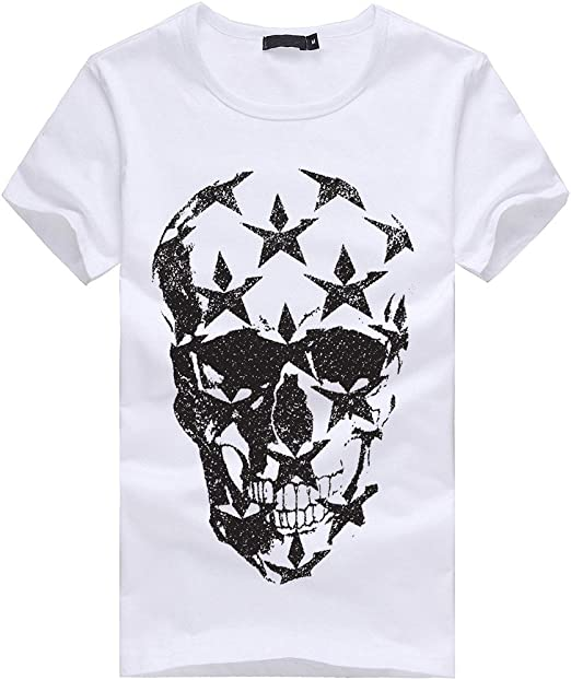 UJUNAOR T Shirt Uomo Divertenti,Maglietta A Maniche Corte,Primavera-Estate 2019,S,M,L,XL,XXL,3XL,4XL