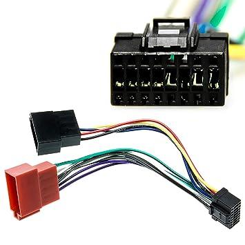 16/broches C/âble adaptateur connecteur ISO pour autoradio Pioneer