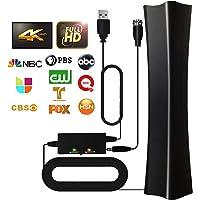 TV Antenna 2021 Indoor Digital Amplified HD TV Antenna, 180+ Miles Range Support 4K 1080p Fire TV Stick & All Older TV's…