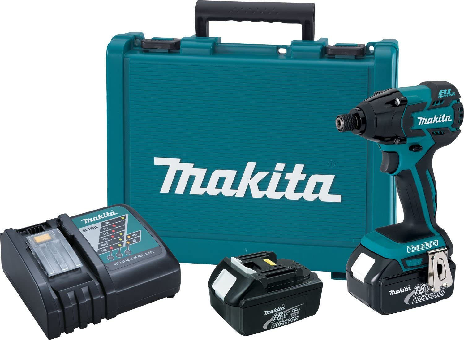 Makita XDT08 18V LXT Lithium-Ion Brushless Cordless Impact Driver Kit Discontinued by Manufacturer
