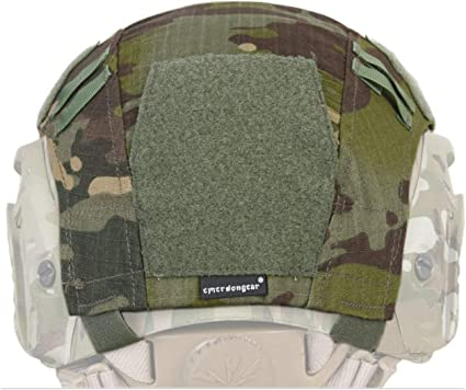 Tactical Fast Airsoft Helmet Cover Multicam Paintball Pouch Camo Combat Idogear