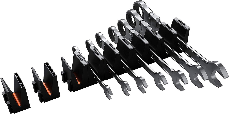 Angled Wrench Organizer Toolbox Widget