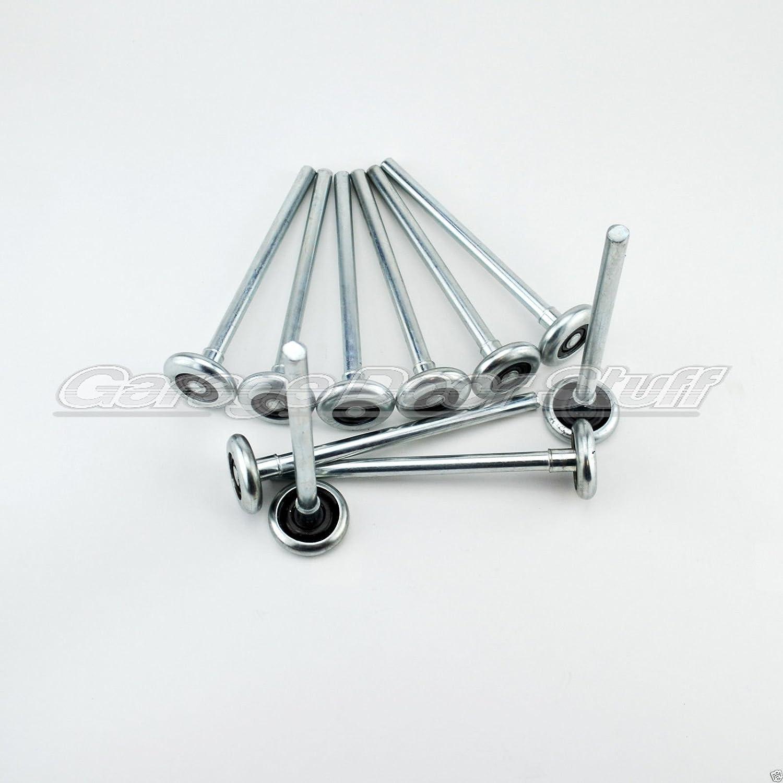 """Garage Door Roller Wheel LONG STEM 2/"""" X 7/"""" Stem STEEL"""