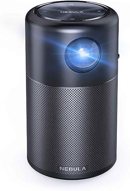 Projecteur multim/édia LCD 1080p Full HD Nebula Prizm by Anker images et musique Projecteur 200 ANSI lms avec deux haut-parleurs 5W compatible HDMI et USB pour films vid/éos