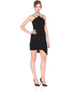 83da4e31998b Amanda Uprichard Women s Odean Dress with Halter Neck and Aymmetrical Hem