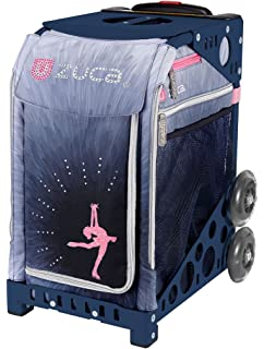 637e5b811e54 ZUCA Ice Dreamz Lux Sport Insert Bag and Navy Blue Frame with Flashing  Wheels