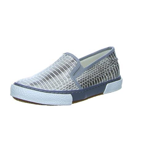 Tamaris Damen Slipper SilberGrau: : Schuhe