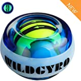 DOTSOG Wrist Trainer Exercises Power Ball Wrist&Forearm Strengthener Essential Auto-Start Spinner Gyro Ball with LED Lights