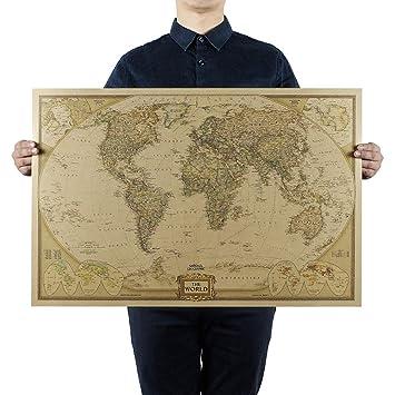 Carte Du Monde National Geographic.National Geographic Decorateur Monde Agrandi Carte De Reference Geographique Nationale Carte Du Monde