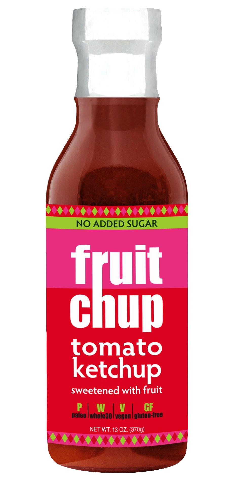 Fruitchup Paleo Ketchup, Whole30, Gluten Free, No Added Sugar,13 oz Bottle (Single bottle)