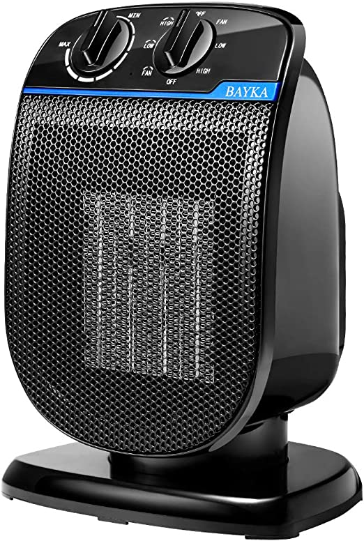 Amazon Com Bayka Space Heater Portable Electric Space Heater For