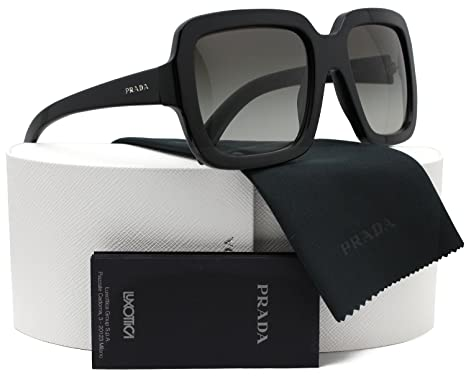 Amazon.com: Prada spr07r Ornate anteojos de sol brillante ...
