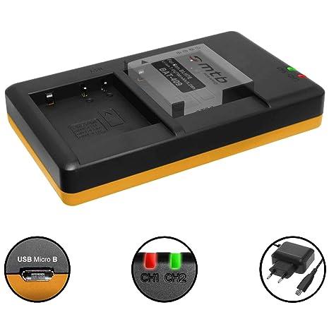 Cargador Doble (Corriente, USB) para Panasonic DMW-BLH7(E ...