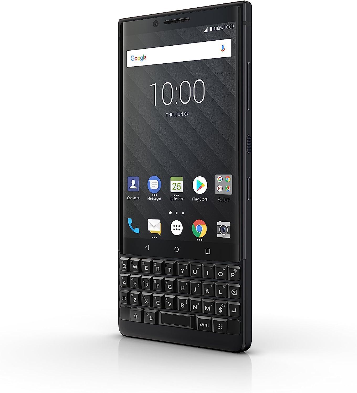 BlackBerry KEY2 64GB (Single-SIM, BBF100-1, QWERTY Keypad) (GSM Only, No CDMA) Factory Unlocked SIM-Free 4G/LTE Smartphone - International Version (Black) - No warranty in the USA 71UVwrKoqhL