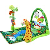 SAVING BASKET Baby Gift Ocean Musical Gym Lullaby Baby Activity Mat Play Gym - Multi Color