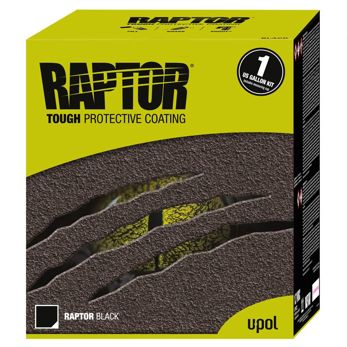 Truck Bed Liner >> U Pol Products Raptor Black 1 7 Voc Truck Bed Liner Kit 4 Liter