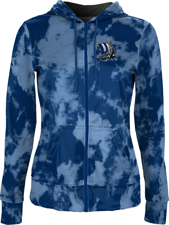 Grunge School Spirit Sweatshirt ProSphere Western Washington University Womens Zipper Hoodie