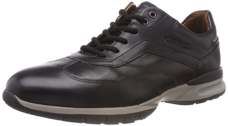 Lloyd Vico Gore-Tex, Zapatillas para Hombre 43 EU|Negro (Schwarz/Blau 1)