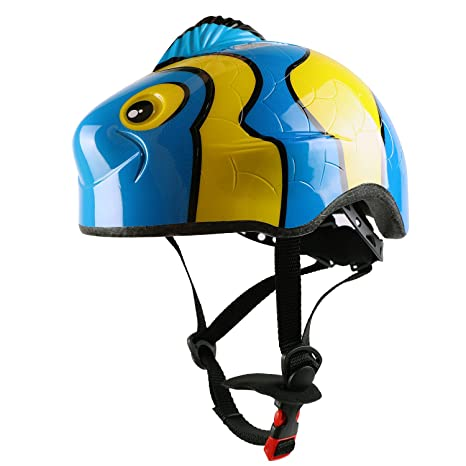 Amazon com : Kids Cycle/Bike Helmet, CPC Certified, Adjustable 3D