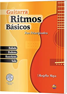Ritmos Básicos -- Guitarra: Para Principiantes (Spanish Language Edition), Book &