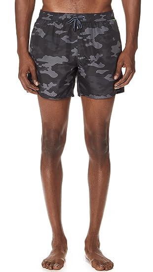 armani camo shorts