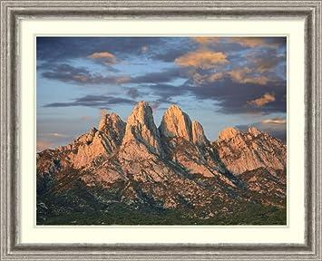 Framed Art Print U0027Organ Mountains Near Las Cruces, New Mexico (II)u0027