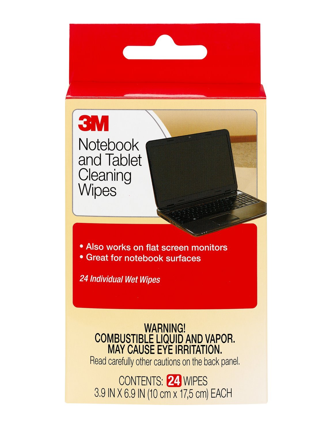 Amazon price history for 3M Notebook Screen Cleaning Wipes, 3.9 x 6.9 Inches (CL630)