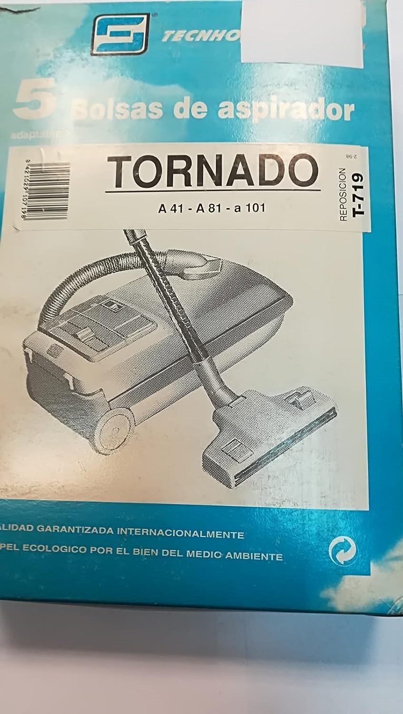 Taurus Bolsas Aspirador COMPATIBLES Tornado A41 A101: Amazon.es: Hogar