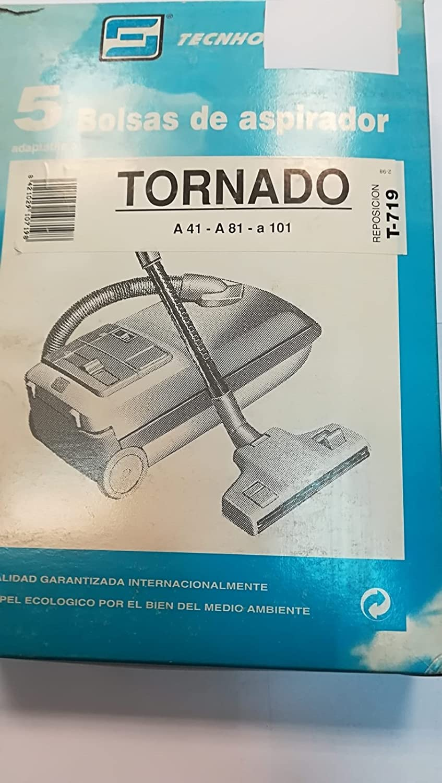 Taurus Bolsas Aspirador COMPATIBLES Tornado A41 A101: Amazon ...