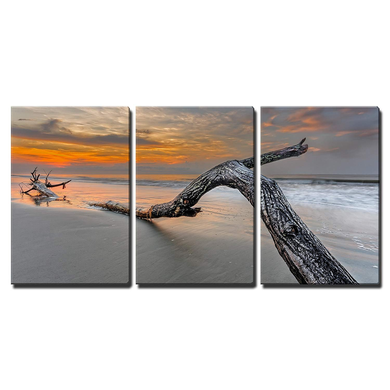 849fc01d963 Beach in Hilton Head Island Wall Decor x3 Panels. thumb  thumb. Favorite. Canvas  Art