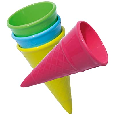 Spielstabil Ice Cream Cone (1 Per Order) Colors Vary: Toys & Games [5Bkhe0804352]