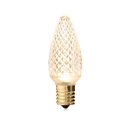 Holiday Lighting Outlet Faceted C9 Christmas Lights | Sun Warm White LED  Light Bulbs Holiday Decoration - Amazon.com : Holiday Lighting Outlet Faceted C9 Christmas Lights