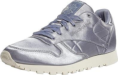 Sanción La ciudad anunciar  Reebok Classic Leather Satin, Zapatillas para Mujer: Amazon.es: Zapatos y  complementos
