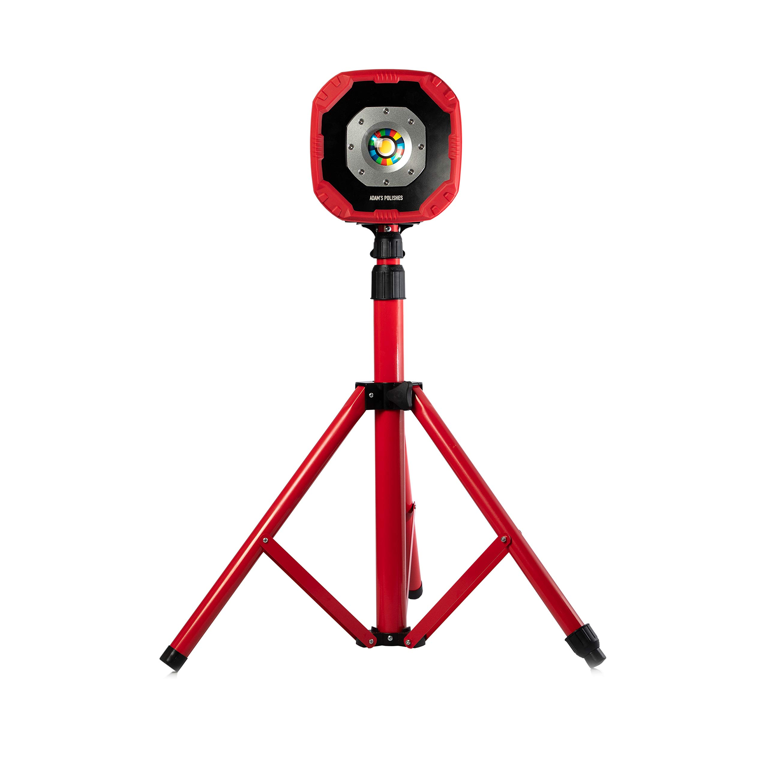 Adam's Color Match LED Light & Ultra Light Tripod - Ultra Bright 1800/600 Lumens Exposes Imperfections, Swirls, and More for Professional Detailing