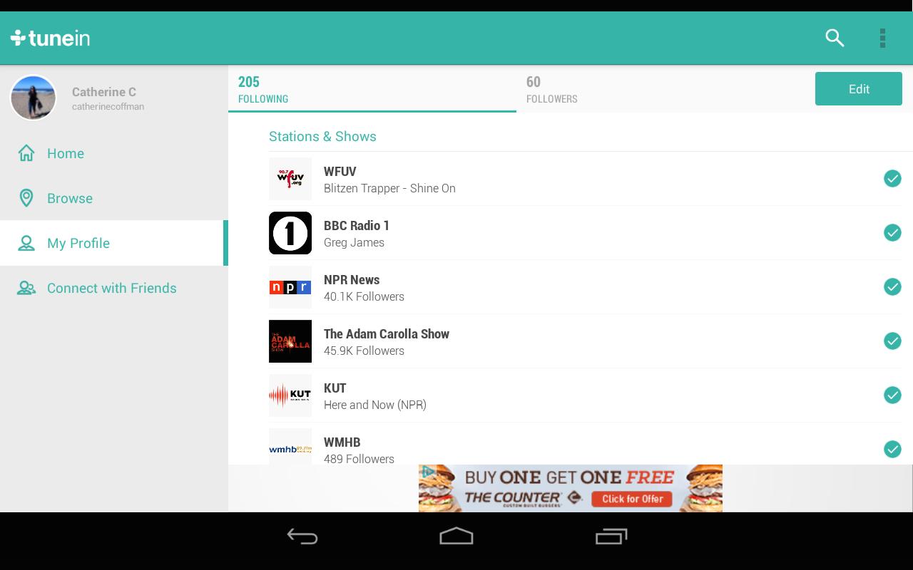 amazon com tunein radio appstore for android