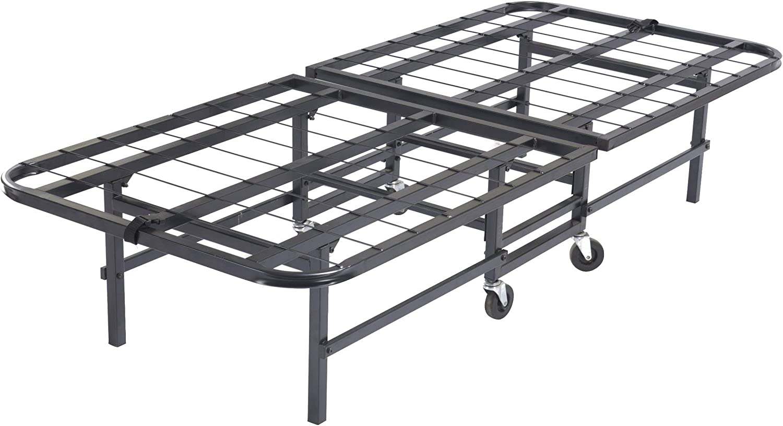 Kings Brand 30 Heavy Duty Metal Platform Folding Guest Bed Frame