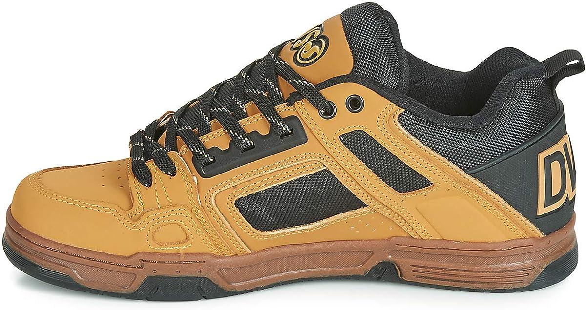 Chamois Black Gum Nubuck Comanche DVS Chaussures de Skateboard Homme 260