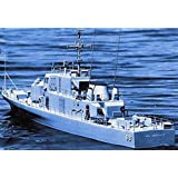 USS Crockett Wooden Boat Kit by Dumas