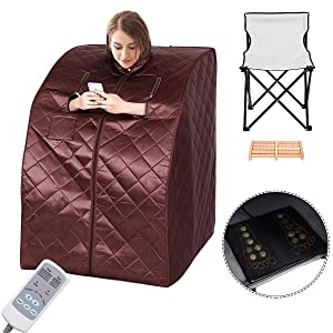 Giantex Portable Far Infrared Spa Sauna