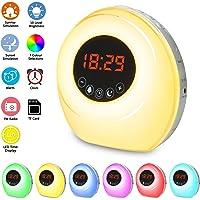 Wake Up Light Despertador Luz, NGOZI LED Despertador