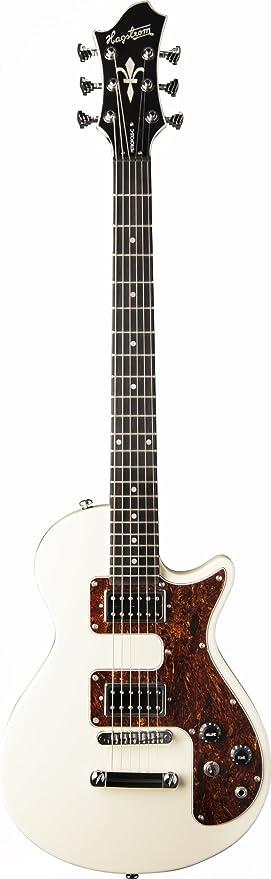 Guitarra eléctrica hagstorm metropolis c - crema