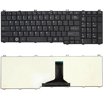 Nuevo diseño de US teclado para ordenador portátil Toshiba Satellite L655-S5058 L655-S5059 L655-S5060 L655-S5061 L655-S5062 L655-S5065: Amazon.es: ...