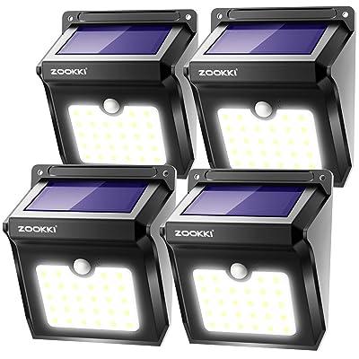 ZOOKKI Solar Lights Outdoor