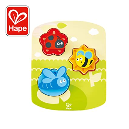 Hape Dynamic Insect Puzzle Game, Multicolor, 6.69'' x 8.19''