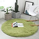 Noahas 4-Feet Luxury Round Area Rugs Super Soft