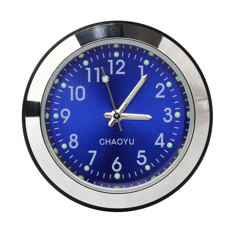 Discoball® Table Classic Car Dashboard Small Round Analog Quartz Clock [ Size: 4x4x4CM ] 56618