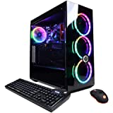 CYBERPOWERPC Gamer Master Gaming PC, AMD Ryzen 3 3100 3.6GHz, 8GB DDR4, Radeon RX 550 2GB, 240GB SSD, 2TB HDD, WiFi Ready & W