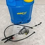 Bricoferr BFOL0860 Pulverizador Eléctrico Recargable, 12 V: Amazon ...