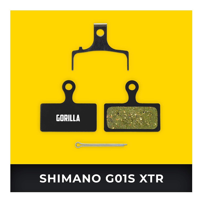 Shimano Brake Pads G01S XTR BR-M9000 M987 M985 XT M8000 M785 SLX M675 M666 Deore M615 for Bicycle Disc Brake I High Brake Performance I Long Lasting Brake Pad